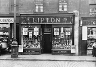 Lipton's Shop in Crown Street, 1924.