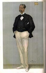 Sir Thomas Lipton in Vanity Fair, 19th September 1901
